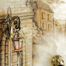 Gemälde SERENADE. JUNGE mit Hintergrundbeleuchtung