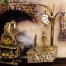 """Gemälde """"The Train"""" mit Hintergrundbeleuchtung"""