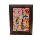 """Gemälde """"Mädchen mit Regenschirm...."""