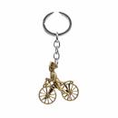 """Schlüsselanhänger """"Radfahrer"""" Bronze..."""