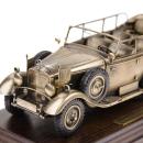 Diorama Mercedes-Benz G4 1935 1:24 Bronze patiniert