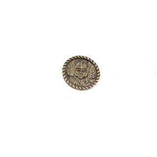 """Abzeichen Amulett """"Walküre"""" Bronze patiniert"""