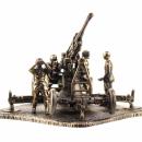 Modell der sowjetischen 85-mm Flugabwehrkanone 52-K 1:72