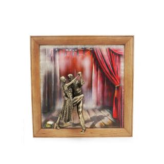 "Gemälde ""Tango"" dreidimensional"