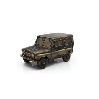 Bronzefigur UAZ 3151 Maßstab 1:43
